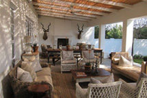 Cape Dutch House - Veranda