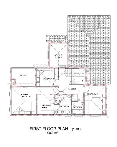 Tuscan house plans south africa wonderful 3 bedroom for South african tuscan house plans designs