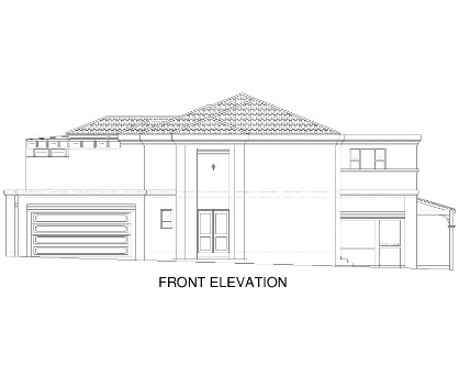 Tuscan House - Elevation